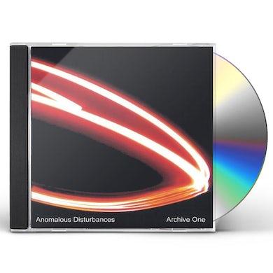 Anomalous Disturbances ARCHIVE ONE CD