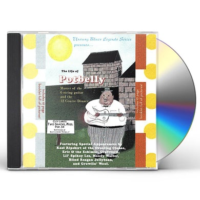 Potbelly MASTER OF THE 6 STRING GUITAR & THE 12 COURSE DINN CD