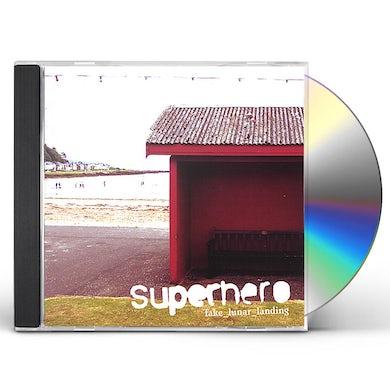 SUPERHERO FAKE LUNAR LANDING CD