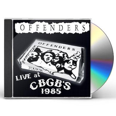 LIVE AT CBGBS 1985 CD