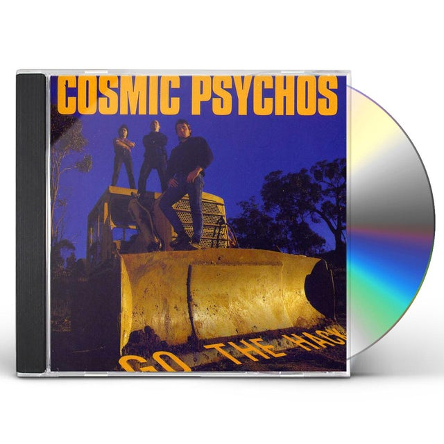 Cosmic Psychos GO THE HACK CD