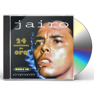 Jairo 24 CANCIONES DE ORO CD