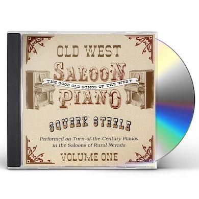 Squeek Steele OLD WEST SALOON PIANO 1 CD