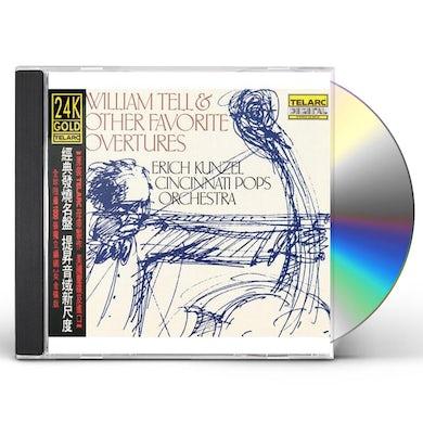 Erich Kunzel & Cincinnati Pops Orchestra WILLIAM TELL & OTHER FAVORITE OVERTURES CD