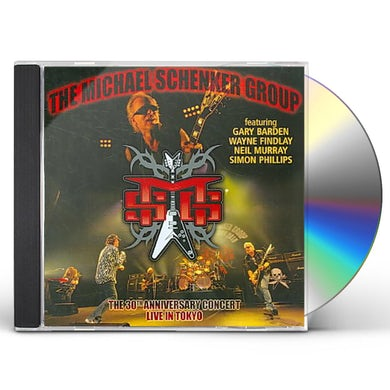 Live in Tokyo: 30th Anniversary Japan Tour: Michael Schenker Group CD