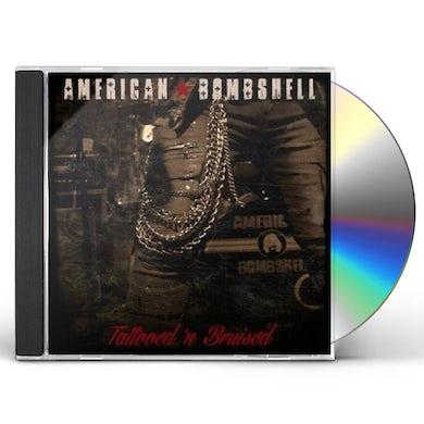 American Bombshell TATTOOED N' BRUISED CD