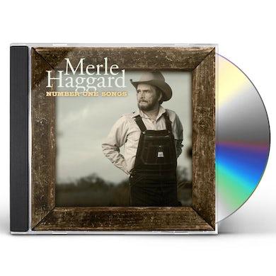 Merle Haggard  NUMBER ONE SONGS CD
