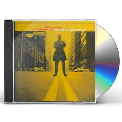 Herbie Hancock Inventions And Dimensions CD