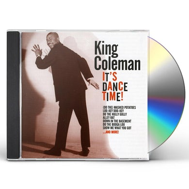 King Coleman IT'S DANCE TIME CD