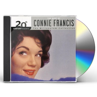 Connie Francis 20TH CENTURY MASTERS CD