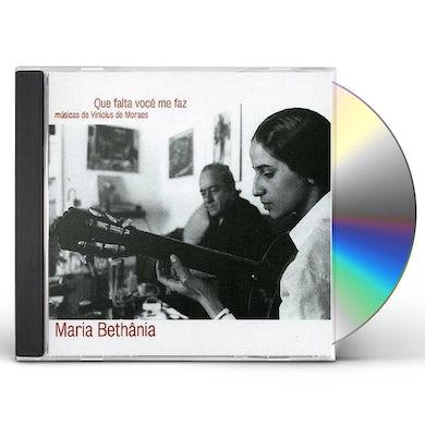 Maria Bethania QUE FALTA VOCE ME FAZ CD