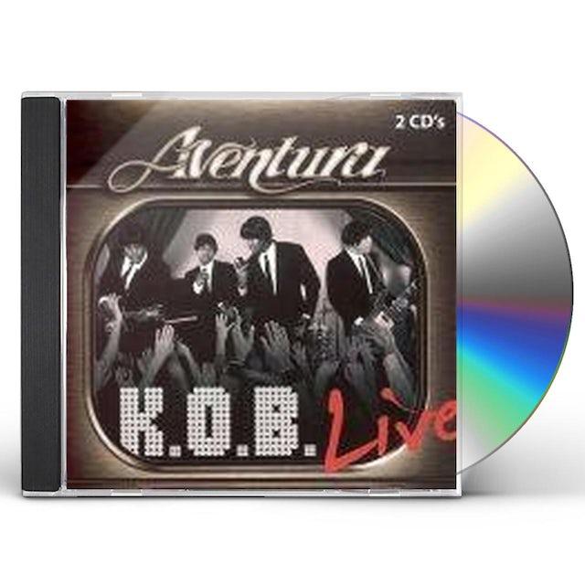 Aventura K.O.B. LIVE CD