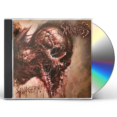 Skinless SAVAGERY CD