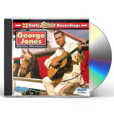George Jones 22 EARLY STARDAY RECORDINGS CD