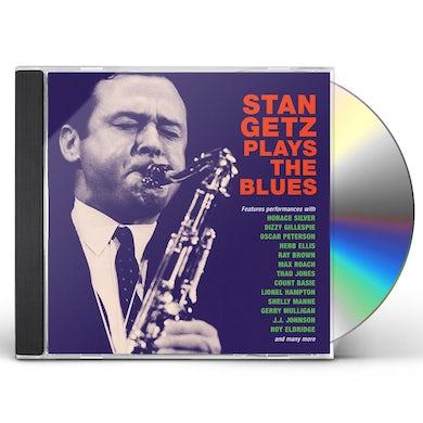 Stan Getz PLAYS THE BLUES CD