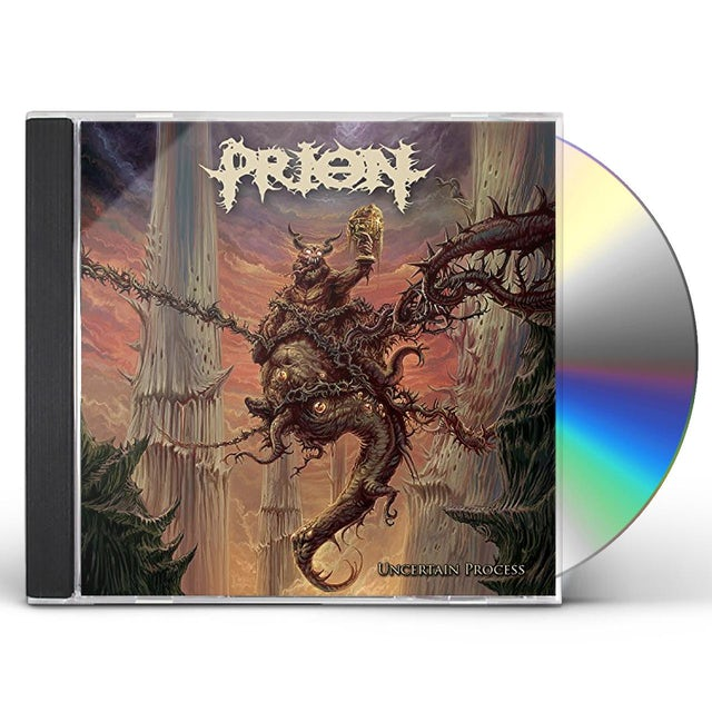 Prion UNCERTAIN PROCESS CD