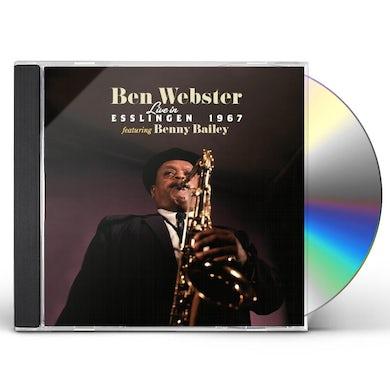 Ben Webster LIVE IN ESSLINGEN 1967 CD