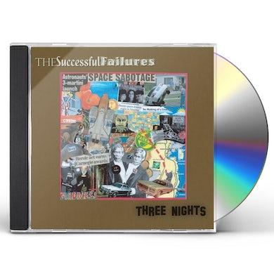Successful Failures THREE NIGHTS CD