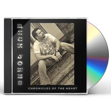 Rick Jones CHRONICLES OF THE HEART CD