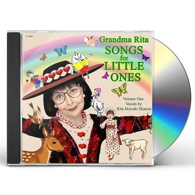 Rita Mizrahi Shamie GRANDMA RITA SONGS FOR LITTLE ONES 1 CD