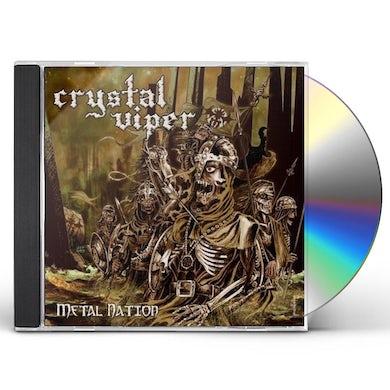 Crystal Viper METAL NATION CD