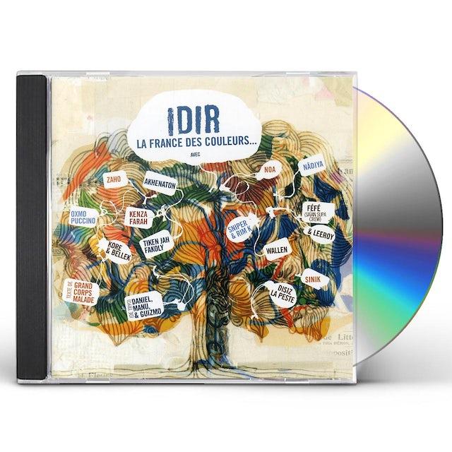 Idir FRANCE DES COULEURS CD