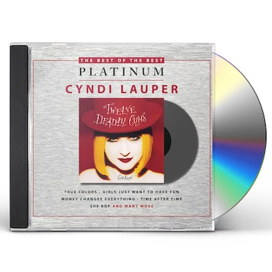 Cyndi Lauper TWELVE DEADLY CYNS CD