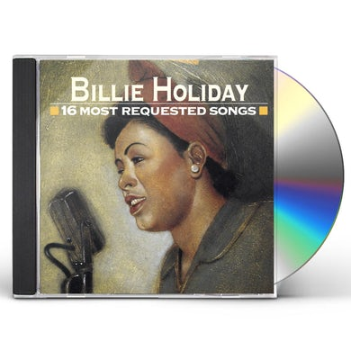 Billie Holiday 16 MOST REQUESTED SONGS CD