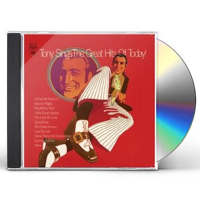 Tony Bennett TONY SINGS GREAT HITS OF TODAY CD