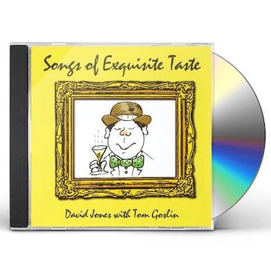 David Jones SONGS OF EXQUISITE TASTE CD