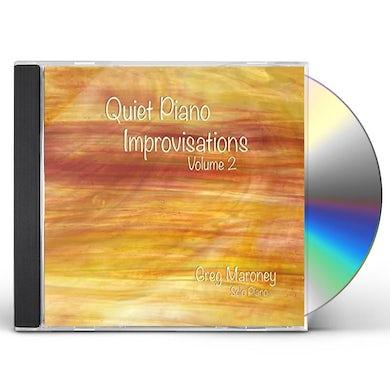 Greg Maroney QUIET PIANO IMPROVISATIONS 2 CD