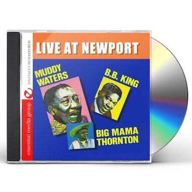 Muddy Waters LIVE AT NEWPORT CD