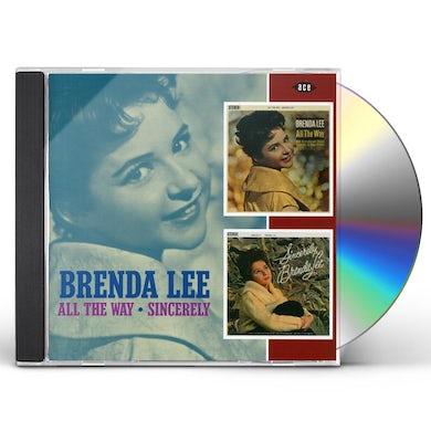 Brenda Lee ALL THE WAY: SINCERELY CD