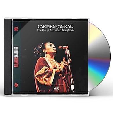 Carmen McRae GREAT AMERICAN SONGBOOK CD