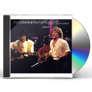 Rod Stewart UNPLUGGED & SEATED (CD+DVD PAL REGION 2) CD