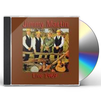 Jimmy Martin LIVE CD