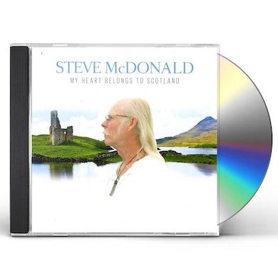 Steve McDonald MY HEART BELONGS TO SCOTLAND CD