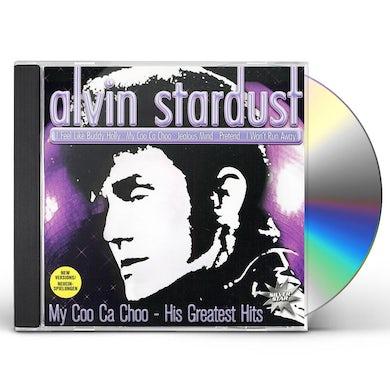 Alvin Stardust MY COO CA CHOO-HIS GREATEST HITS CD