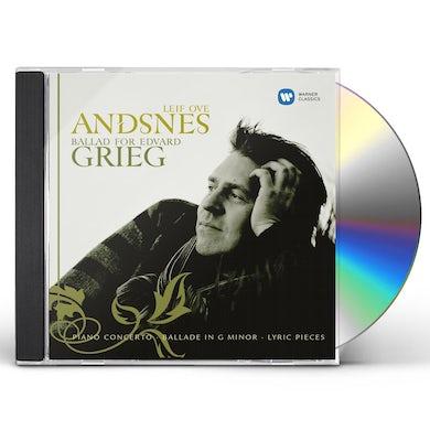 Leif Ove Andsnes BALLAD FOR EDVARD GRIEG CD