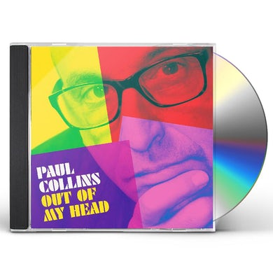 Paul Collins OUT OF MY HEAD CD
