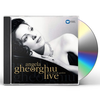 Angela Gheorghiu LIVE FROM COVENT GARDEN CD