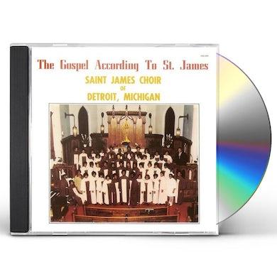 St James Choir GOSPEL SCCORDING TO ST JAMES CD