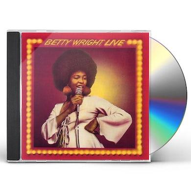 Betty Wright LIVE CD