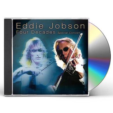 Eddie Jobson FOUR DECADES: SPECIAL CONCERT CD