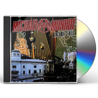 Michael Monroe BLACKOUT STATES: LIMITED CD