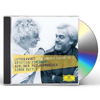 LUTOSLAWSKI: PIANO TO / SYMPHONY NO.2 CD