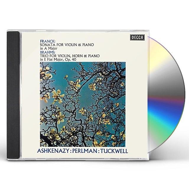 Itzhak Perlman FRANCK: VIOLIN SONATA / BRAHMS: HORN CD