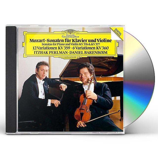 Itzhak Perlman MOZART: VIOLIN SONATAS K 376 & 377 CD