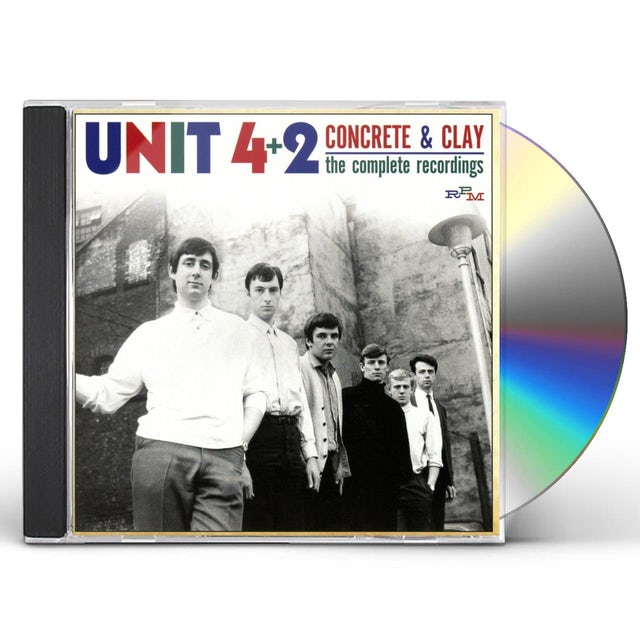 Unit 4+2 CONCRETE & CLAY-THE COMPLETE RECORDINGS 1964-69 CD