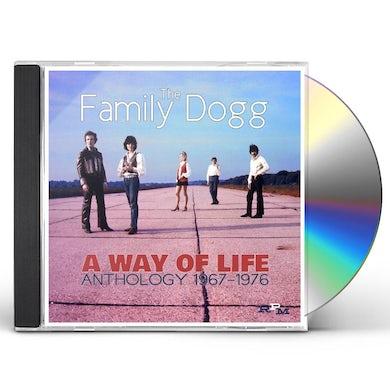 Family Dogg WAY OF LIFE :ANTHOLOGY 1967-76 CD